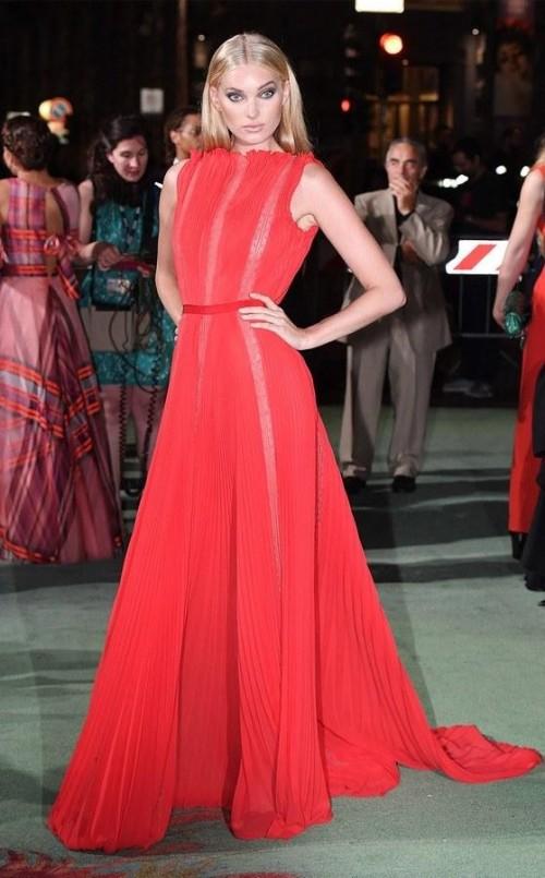 Yay or Nay? Elsa Hosk attends the Green Carpet Fashion Awards Italia 2017 during Milan Fashion Week - SeenIt