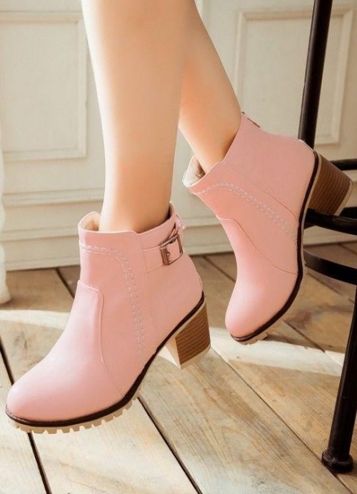 Looking for this pink ankle boots - SeenIt