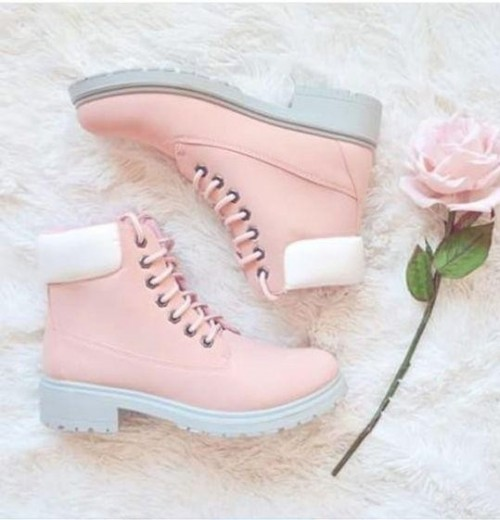 Help me find similar pink lace-up ankle boots - SeenIt
