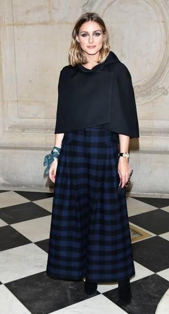 Yay or Nay? Olivia Palermo, attends the Christian Dior show during the Paris Fashion Week - SeenIt