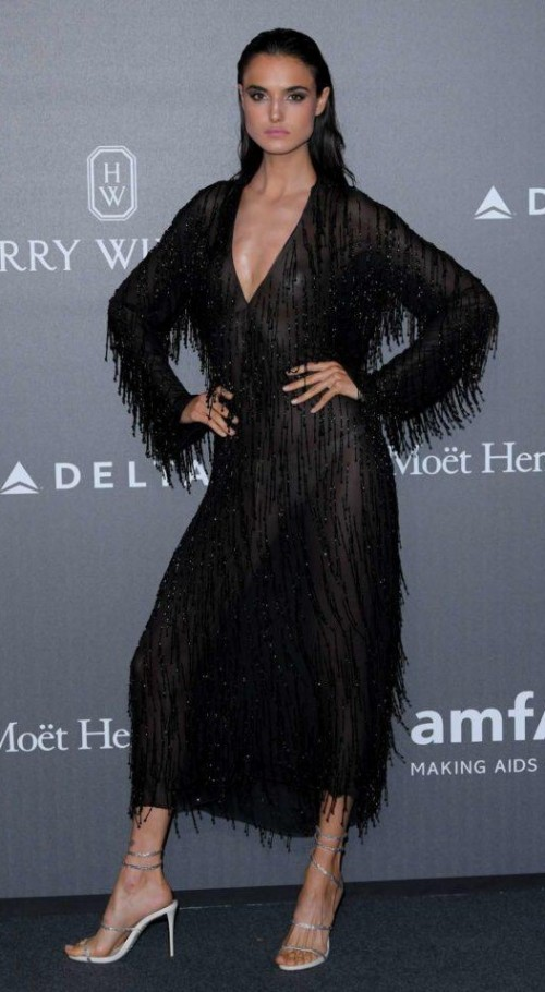 Yay or Nay? Blanca Padilla attends the amfar gala Milano during the Milan fashion week - SeenIt