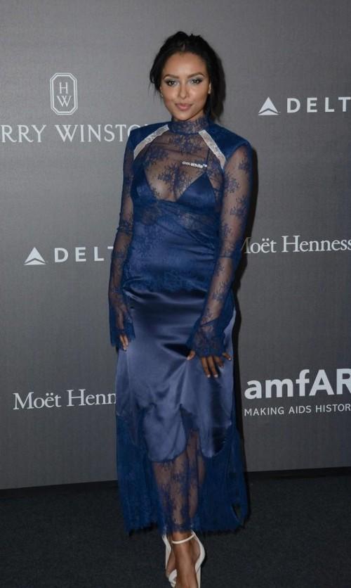 Yay or Nay? Kat Graham attends the amfar gala Milano during the Milan fashion week - SeenIt