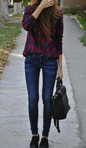 want this blue and red check shirt... - SeenIt