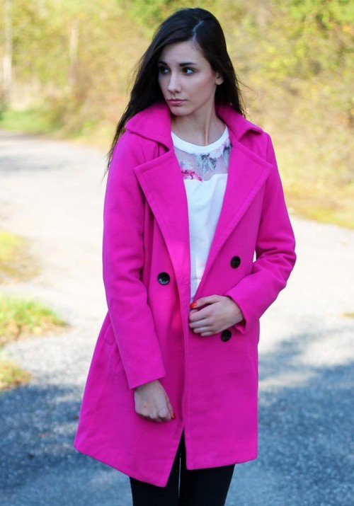 Looking for Pink coat or trench coats - SeenIt