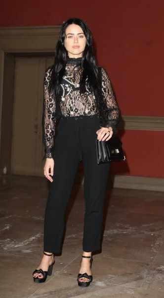 Yay or Nay? Kristina Bazan attends the Paul & Joe show during the Paris Fashion Week - SeenIt