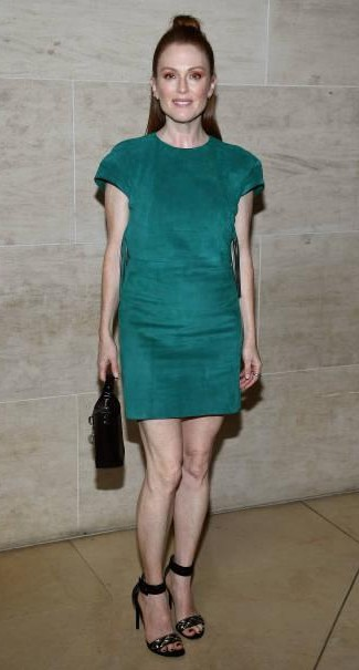 Yay or Nay? Julianne Moore attends the Louis Vuitton show during the Paris Fashion Week - SeenIt