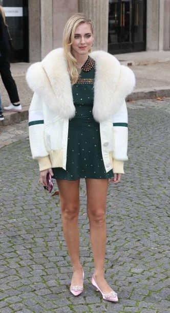 Yay or Nay? Chiara Ferragni attends the Miu Miu show during the Paris Fashion Week - SeenIt