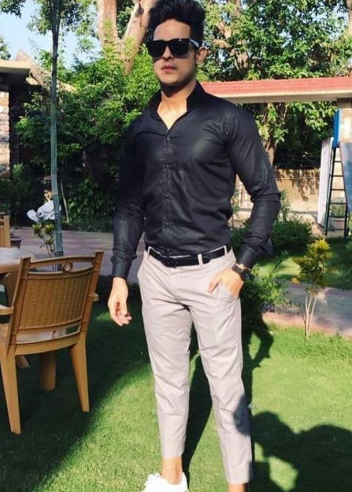 Shop priyanksharma, outfit, shirt, trousers on SeenIt - 43985