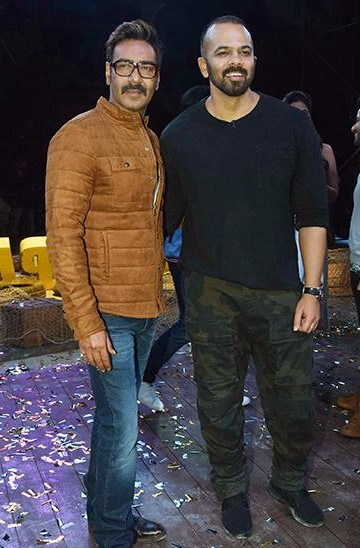 looking for a similar brown jacket online like Ajay Devgn is seen wearing at the promotions of Golmaal Again - SeenIt