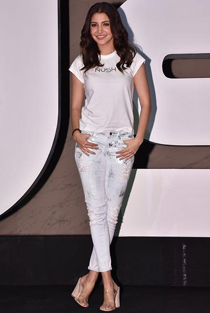 Shop anushkasharma, casual, day, summer, jeans, outfit ...