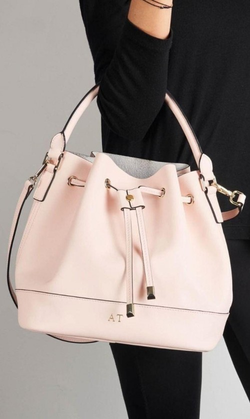 Looking for similar babypink bucket bag - SeenIt
