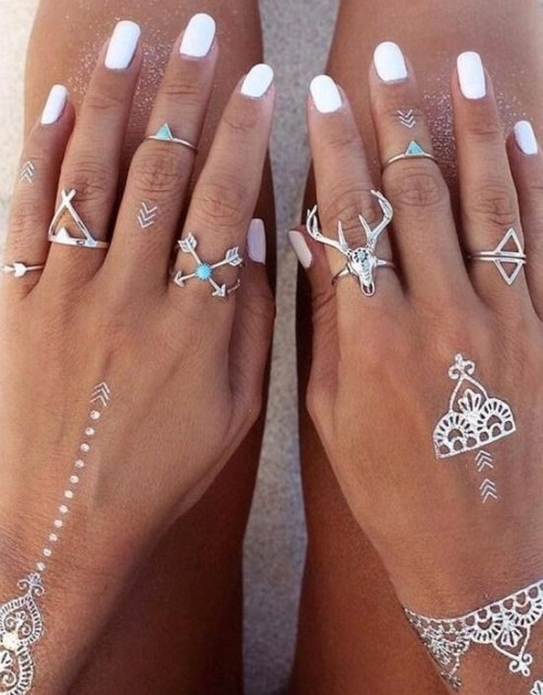Looking for similar boho ring set - SeenIt