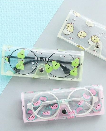 Looking for this fruity print eye cases - SeenIt