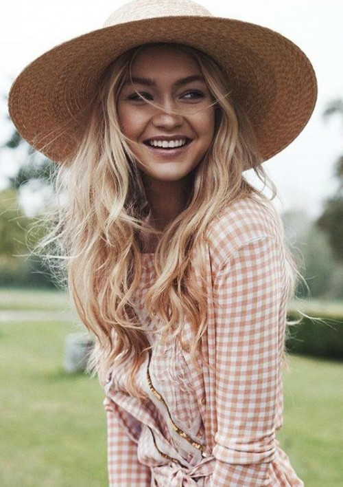 i am looking for a similar hat which Gigi Hadid is wearing - SeenIt
