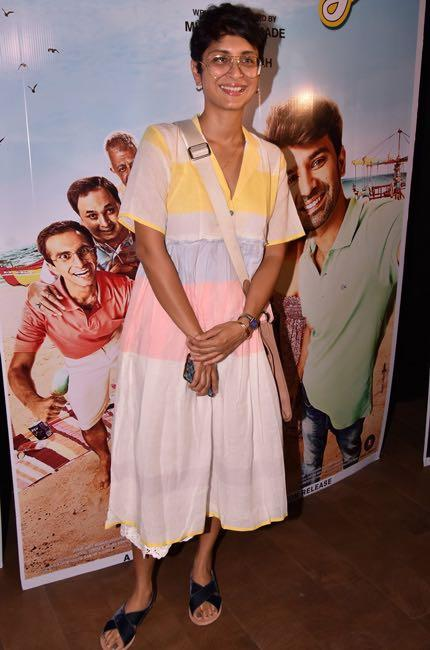 Yay or Nay? Kiran Rao spotted wearing  a white midi dress in Mumbai recently - SeenIt