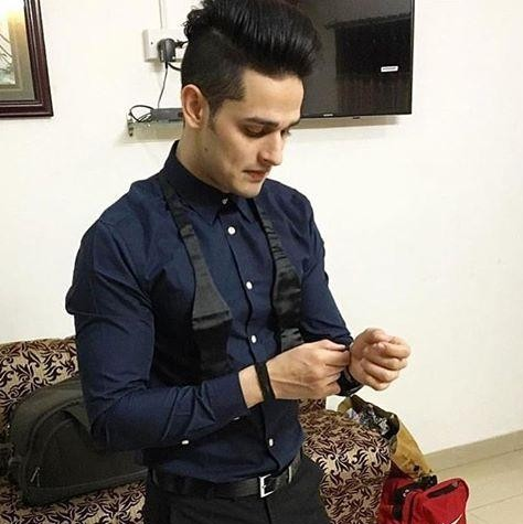 Looking for this navy blue shirt which Priyank Sharma is wearing - SeenIt