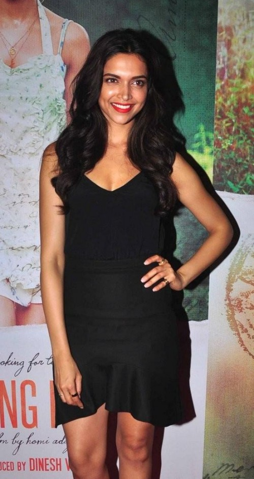 Looking for a similar top and ruffle skirt that Deepika Padukone is wearing - SeenIt