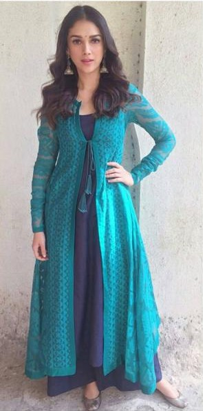 I'm looking for something similar to this anarkali which Aditi Rao Hyadri is wearing - SeenIt
