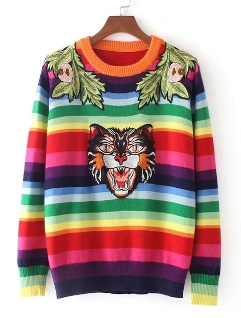 help me out to find exact or similar striped sweater on indian site - SeenIt