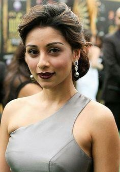 Looking for the dark maroon lipstick that Amrita Puri is wearing - SeenIt