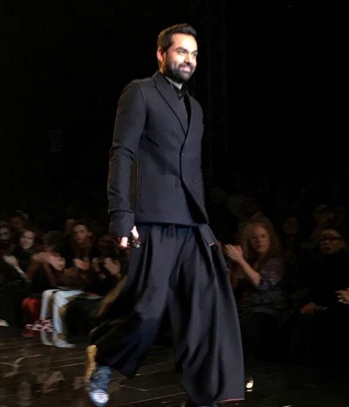 Yay or Nay? Abhay Deol walks the ramp as a showstopper for Rajesh Pratap during the Amazon Fashion Week - SeenIt