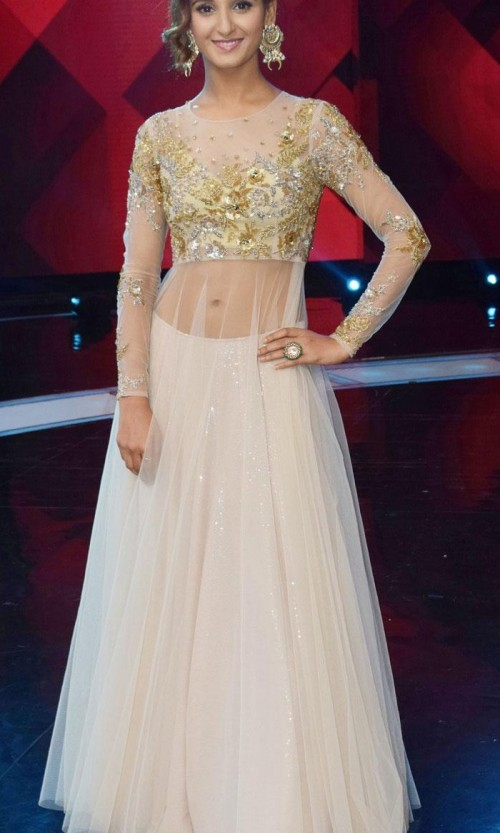 Want this shakti mohan dress , white sheer cape lehenga - SeenIt