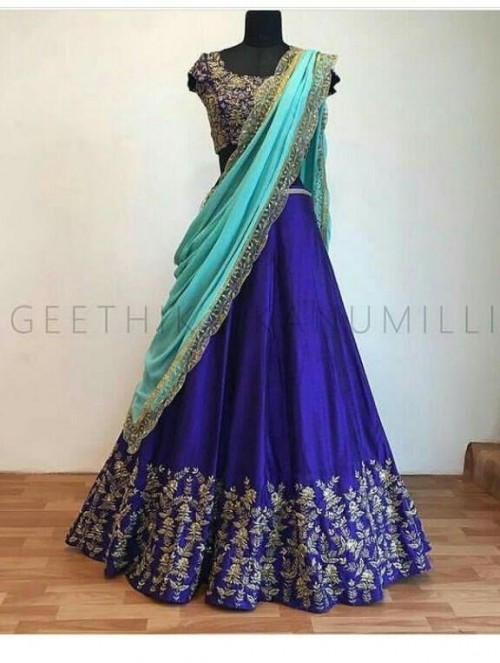 looking for exact same blue lehenga - SeenIt
