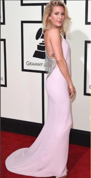 Perfectly tousled hair and a Stella McCartney gown. I think its a 10/10 for Ellie Goulding - SeenIt
