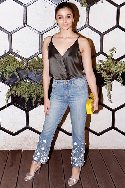 looking for the same jeans which Alia Bhatt is wearing - SeenIt