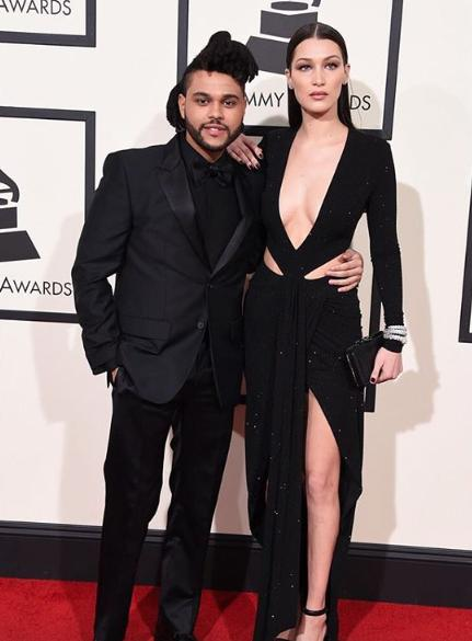 The Weeknd and his super sexy girlfriend Bella Hadid. Dont they look fierce?? - SeenIt