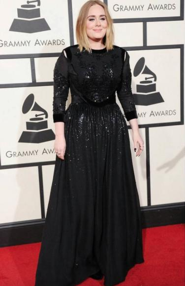 Hello from the other side Adele! she's wearing Givenchy what do you'll think?? - SeenIt