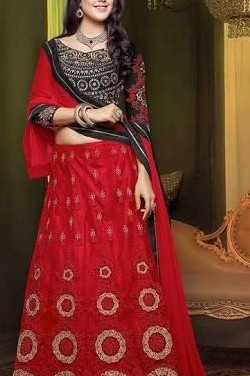 looking for the same red & black lehenga - SeenIt
