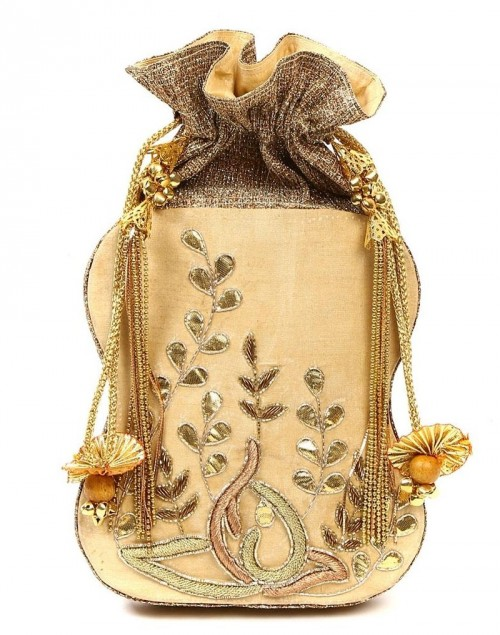 looking for a similar potli bag! an embroided one!! - SeenIt