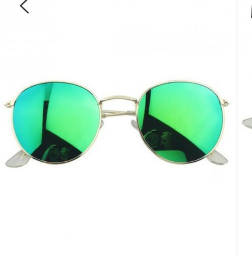 I am looking for the same green reflective sunglasses - SeenIt