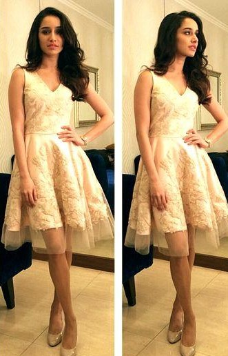 help me find a similar skater dress which shraddha kapoor is wearing! - SeenIt