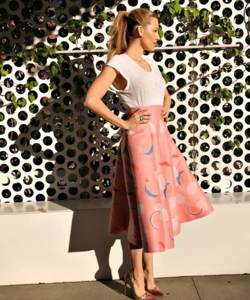 Yay or Nay? Blake Lively at the promotions of her upcoming movie All i see is you recently - SeenIt