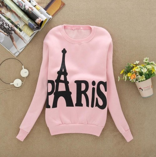 help me find these pink paris sweatshirt.. - SeenIt