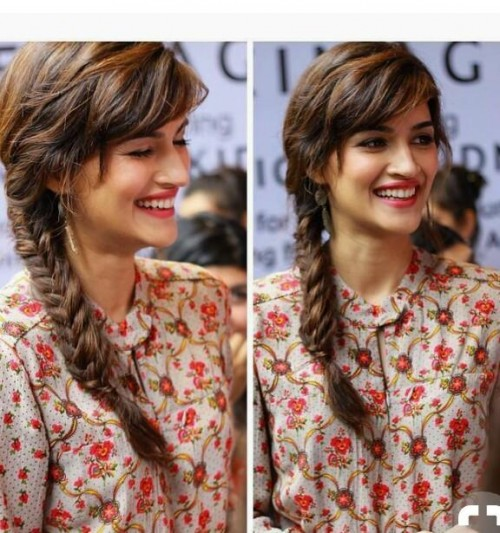 I m looking for this printed top which Kriti Sanon is wearing - SeenIt