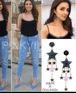 Looking for the same earrings which Parineeti Chopra is wearing - SeenIt