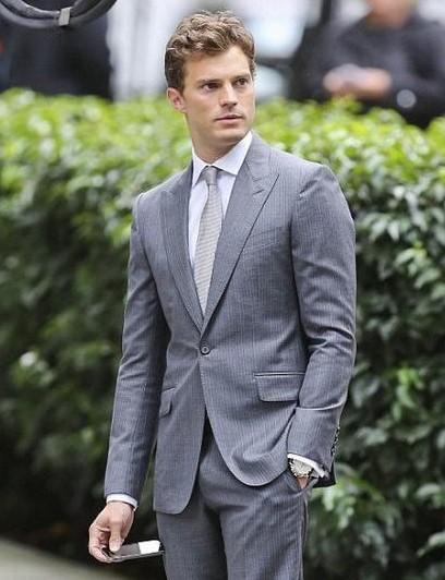 help me find a similar grey suit which jamie dornan is wearing! - SeenIt