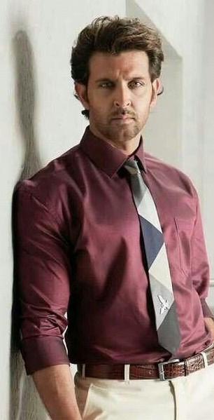 Shop Hrithikroshan Belt Outfit Shirt Tie On Seenit 45685