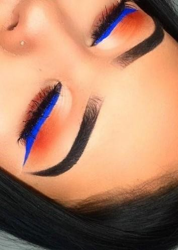 looking for similar blue kajal / eyeliner - SeenIt