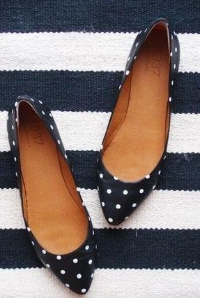 looking for the same black and white polka dot bellies - SeenIt
