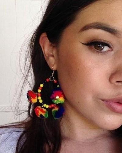looking for similar pompoms earrings - SeenIt