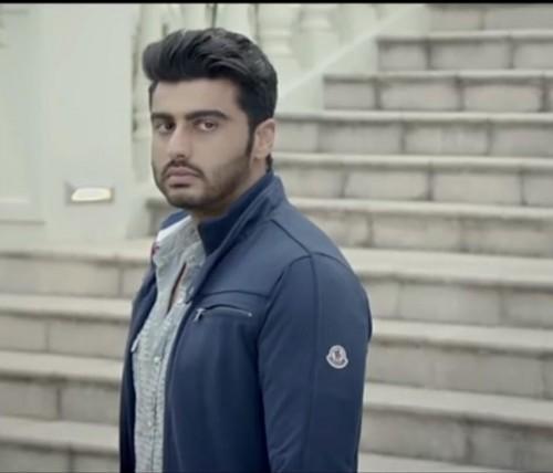 Arjun Kapoor blue zipper jacket in half girlfriend - SeenIt