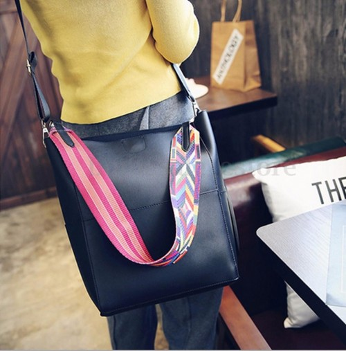 Looking for similar black leather satchel handbag - SeenIt