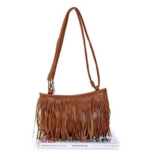 Looking for this brown fringes sling bag - SeenIt