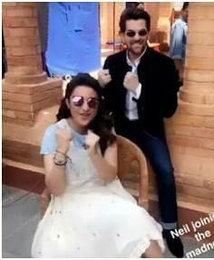 Parineeti Chopras white cream coloured dress from golmaal again - SeenIt