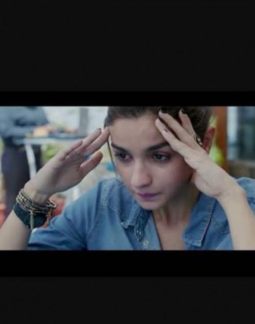 Alia Bhatt's bracelets and watch from Dear Zindagi - SeenIt