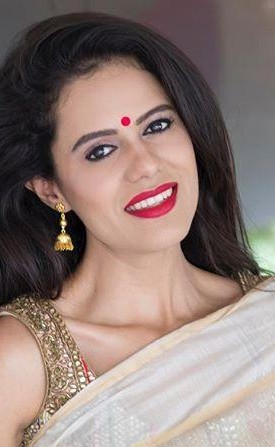This red lipstick that Aakriti Rana Gill is wearing - SeenIt
